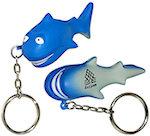 Shark Key Chain Stress Balls